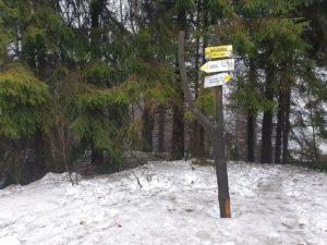 Szczyt Waligóra - Góry Kamienne