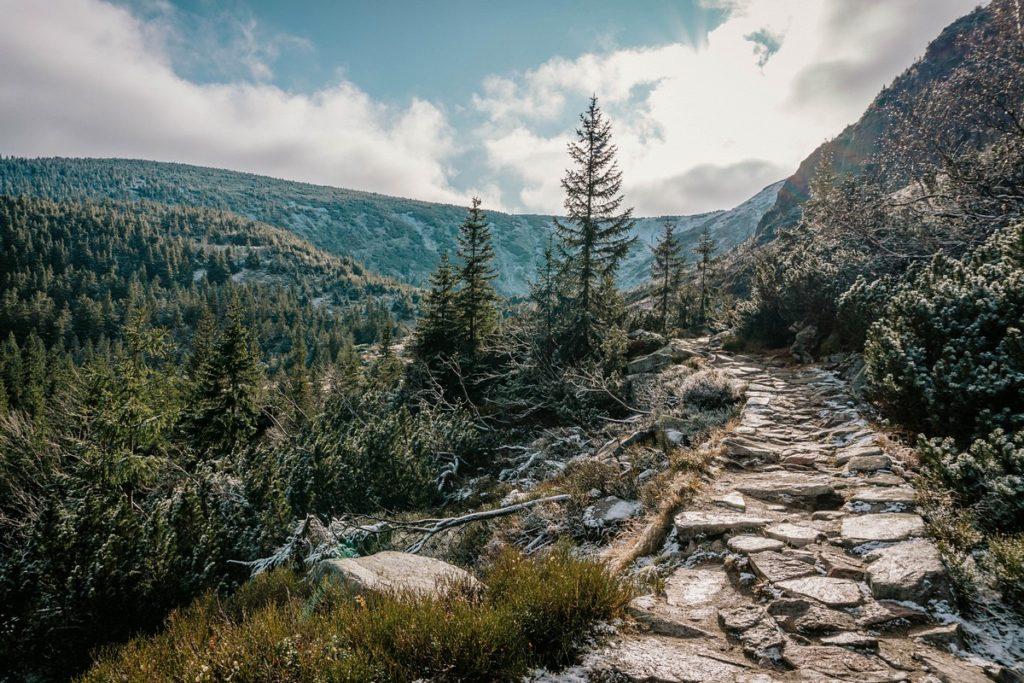 Karpacz Biały Jar - Zielony Szlak na Śnieżkę