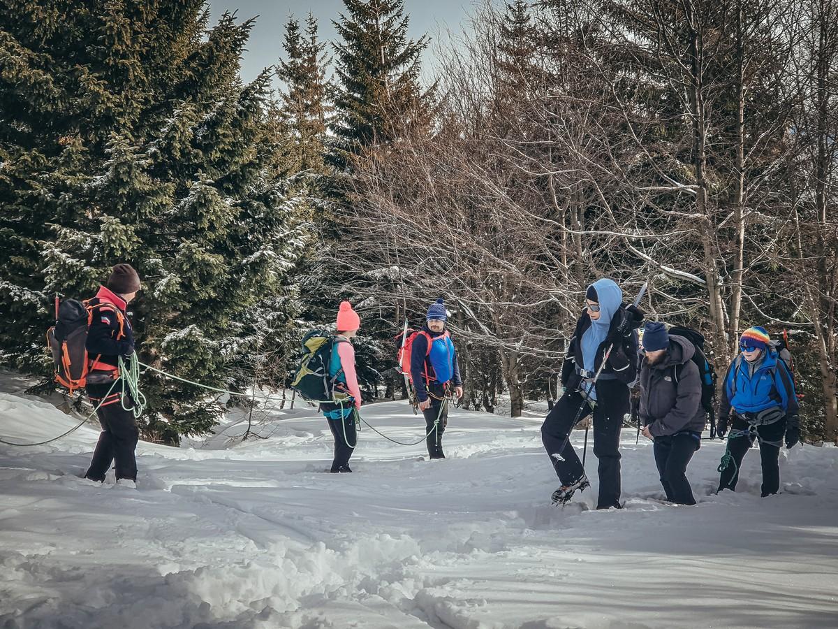 Szkolenie alpinistyczne Karkonosze