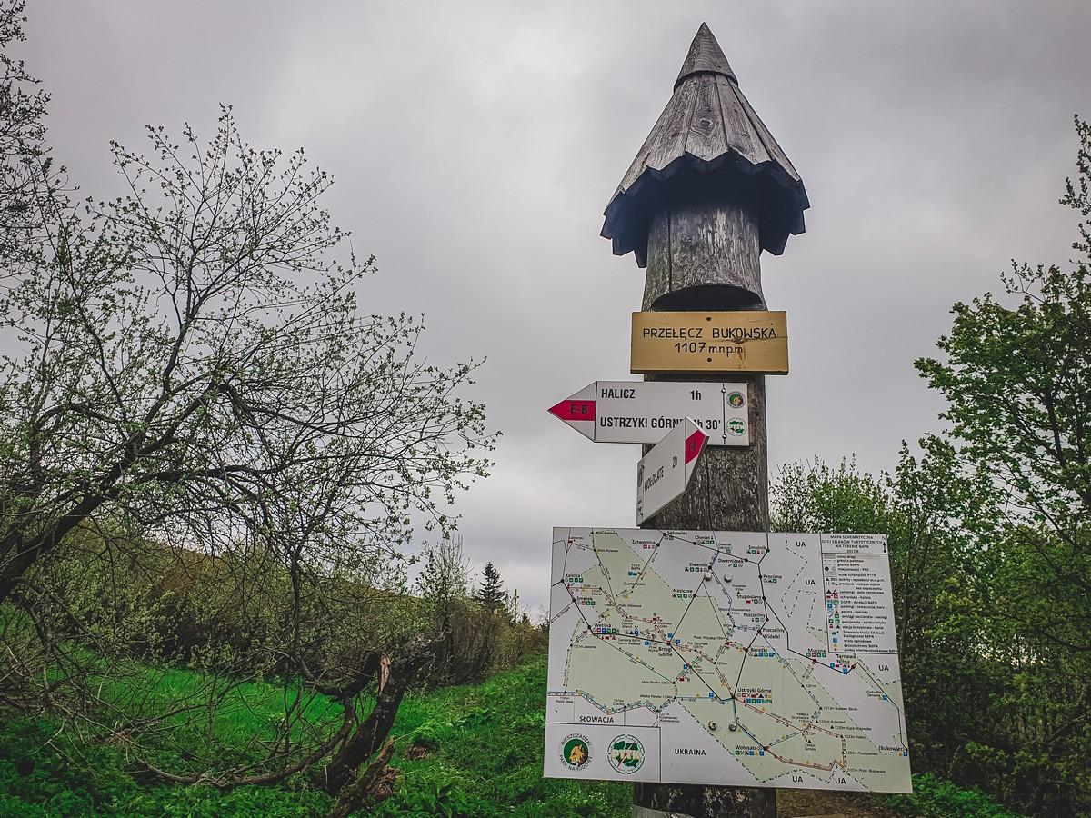 Bieszczady - Halicz i Rozsypaniec