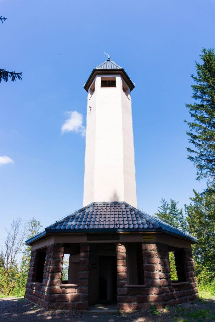 Włodzicka Góra - wieża widokowa