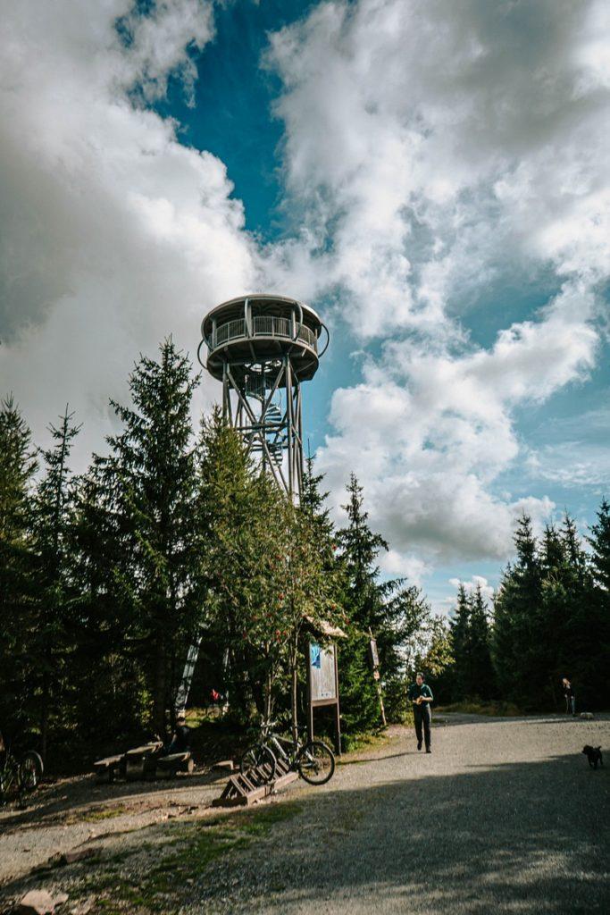 Wieża widokowa Jagodna - Góry Bystrzyckie