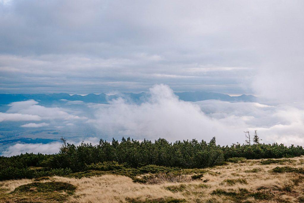 Babia Góra - widok na Tatry