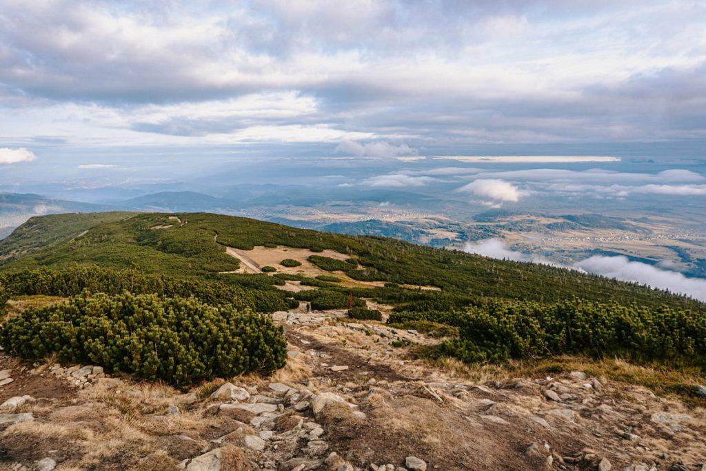 Panorama z Babiej Góry