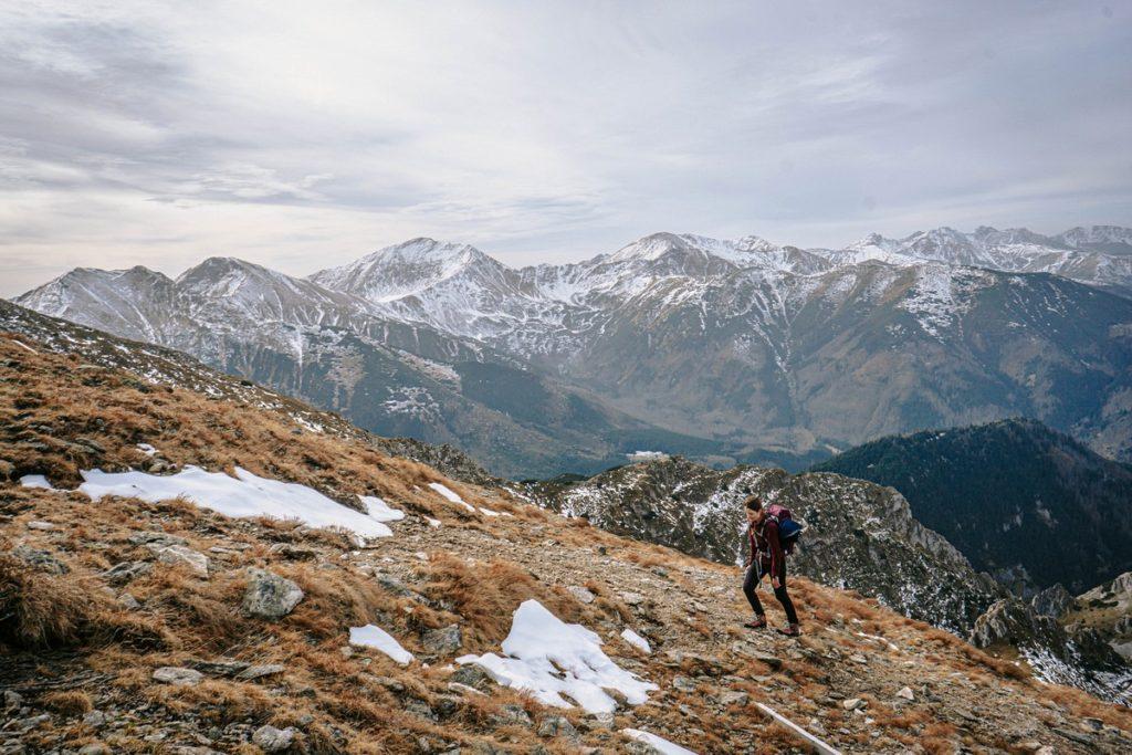 Szlak na Ciemniak - Czerwone Wierchy