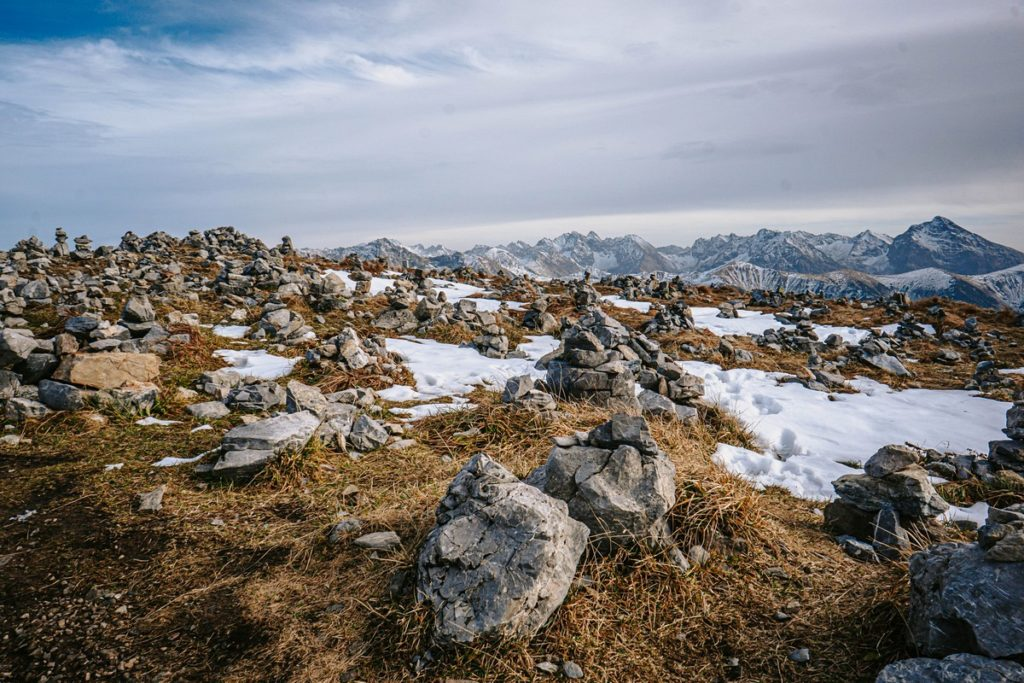Krzesanica - szczyt - Czerwone Wierchy