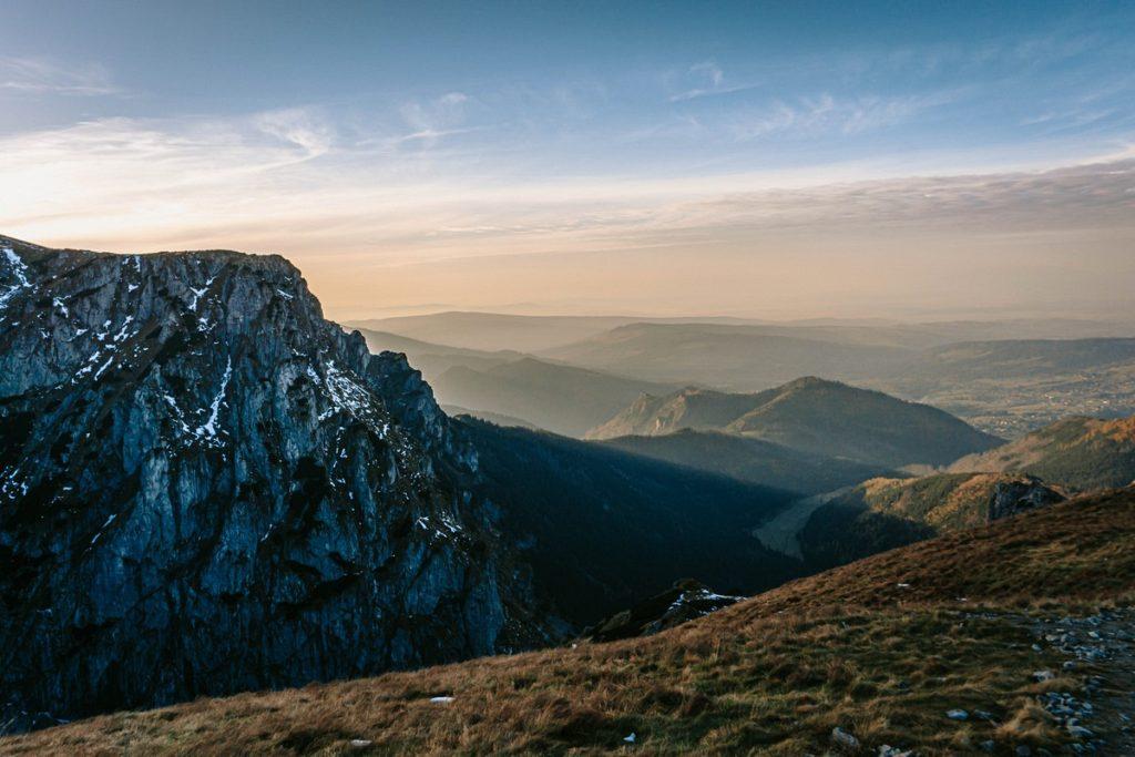 Zachód słońca Tatry