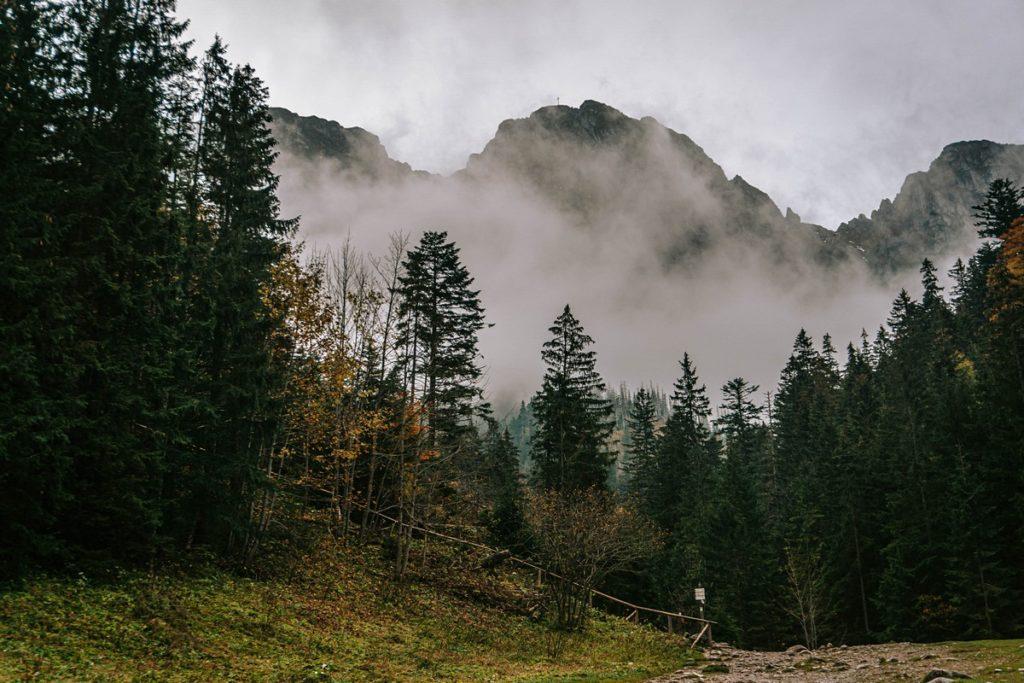 Giewont we mgle