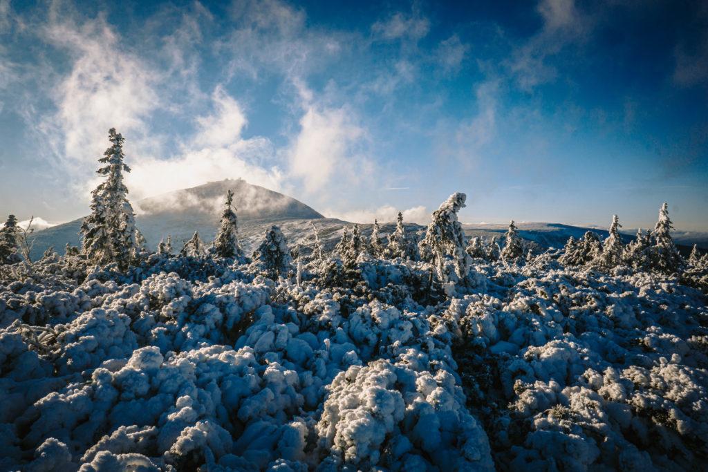 Sylwester w górach - Śnieżka